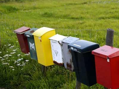 Gå til kategori: Markeret postkasse